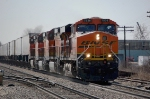 BNSF 7536, 4069, 4015 & 5137